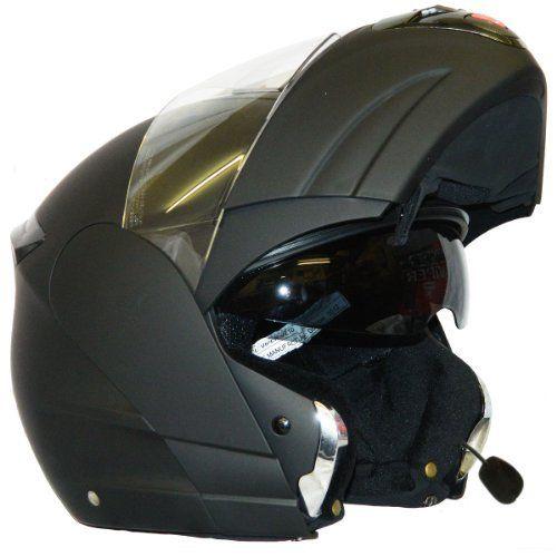 """Système Bluetooth usine équipée Plus, 2 x haut-parleurs haute définition, Goutte intégré Bas Visor remplaçable visière anti-rayures, système de ventilation aérodynamique, bruit haute densité Réduire Doublure ECE-22.05, ACU Or approuvé, SHARP3 *** (93%) réceptionné en tant RS-V121 New Parlez-Clear Noise … <a href=""""http://www.123autos.fr/produit/moto-casque-bluetooth-viper-v131-modulaire-casque-scooter-casque-noir-mat-s/"""">Lire la suite</a&..."""