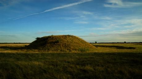 Sutton Hoo, awe-inspiring Anglo-Saxon royal burial site.  This hauntingly beautiful 255 acre estate, with far-reaching views over the river Deben, is home to one of the greatest archaeological discoveries of all time.