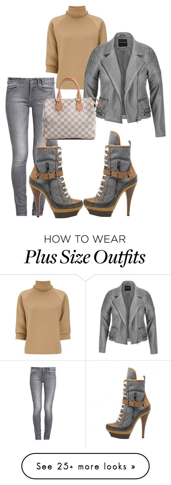 """Untitled #1554"" by styledbycharlieb on Polyvore featuring GUESS, J.W. Anderson, Barbara Bui, maurices and Louis Vuitton"
