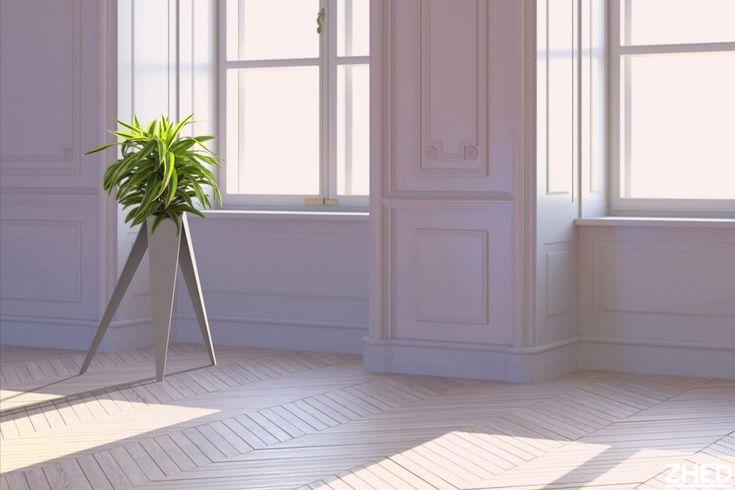 Le pot de fleur Plexus est autant un élément de décoration design qu'un meuble indispensable pour mettre en lumière votre luxuriante fougère ou votre précieux bonsaï. Ses trois pieds en métal plié occuperont avec aplomb l'espace que vous lui dédierez.