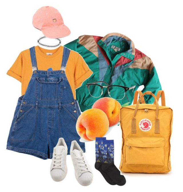 untitled by hazerdazer on Polyvore featuring polyvore, fashion, style, HOT SOX, adidas, Fjällräven, Boohoo and UNIF