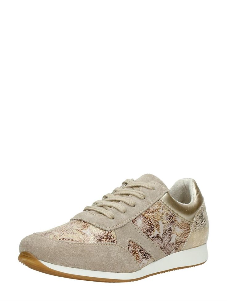 Stijlvolle dames sneaker met bloemenprint van Tamaris #shinyshoes #flowerpower