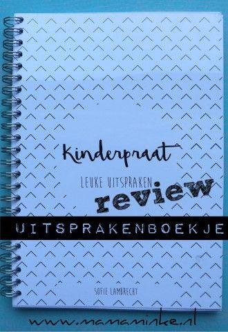 Ben je opzoek naar een leuk boekje om de woorden, uitspraken en verhalen van je kind op te schrijven? Lees dan even verder en maak kennis met kinderpraat.