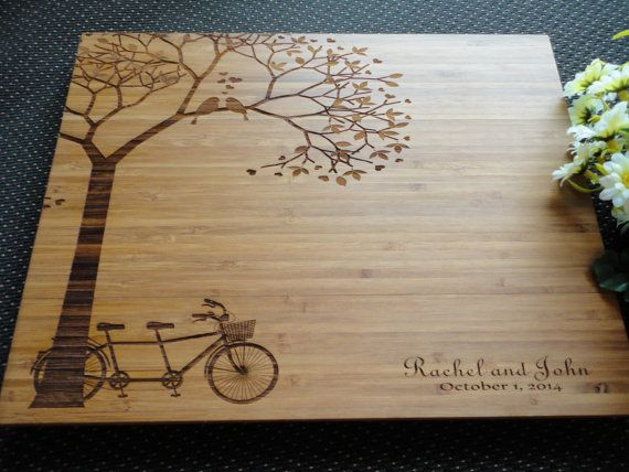 Personalized Cutting Board, Custom Engraved, Bamboo Cutting Board, Lasered Engraved, Wedding Gift, Anniversary Gift