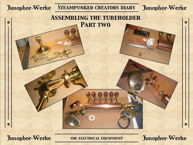 Hi everybody! My Steampunked NIXIE TUBE CLOCK project is a really long-time-project started in october 2014 and ended today in june 2017. After reading the...