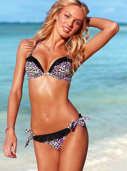 love victorias secret: Bathing Suits, Push Up Halter, Style, Halter Tops, Swimsuits, Victoria Secret, Bikini