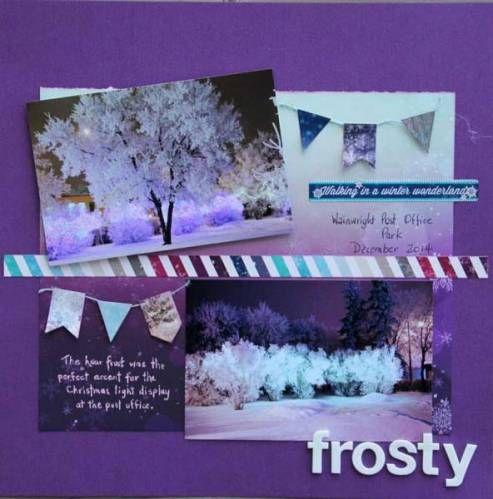 Lorraine's January CT - Frosty