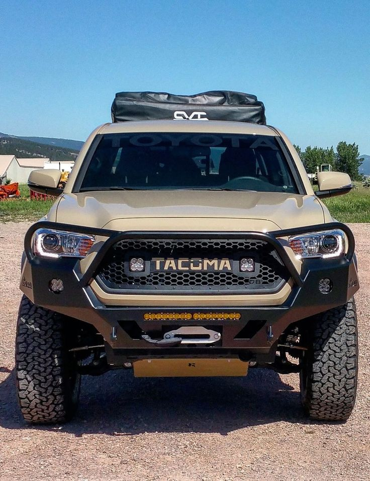 2016+ Tacoma 3rd Gen Overland Series Front Bumper Full Size -No Cut 3