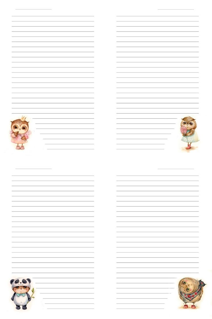 Hand Made by Alesanalovesky: Pages for notebook/Странички для блокнота