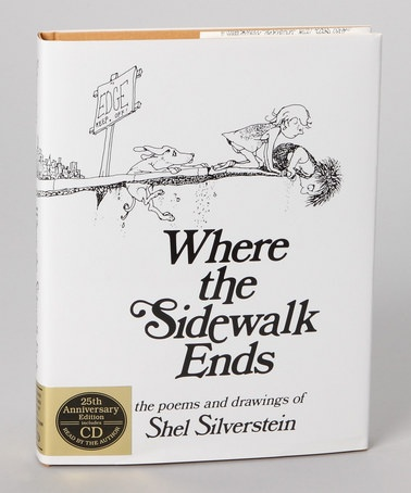 Take a look at this Where the Sidewalk Ends Hardcover & CD by HarperCollins on #zulily today!  LOVE THIS ONE TOO!
