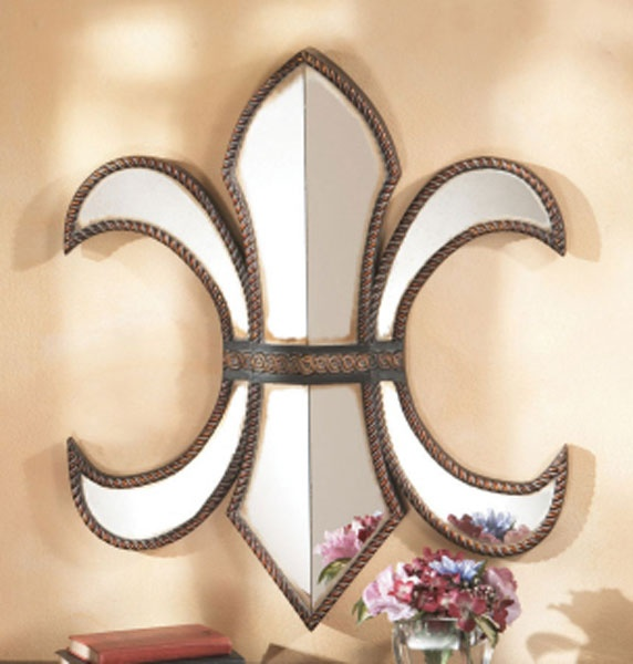 Large Fleur De Lis Wall Mirror In 2018 Pinterest Home And Decor