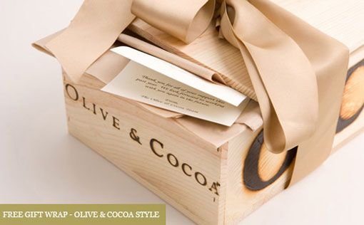 "Olive & Cocoa ""unique & luxury gifts"""
