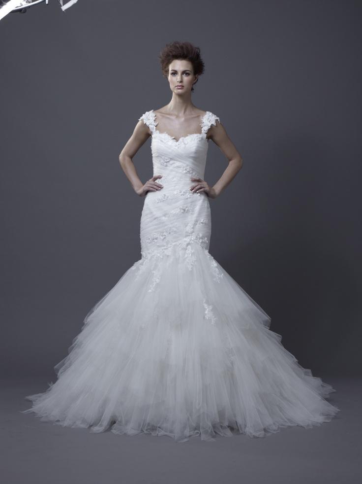Igen Szalon Enzoani wedding dress - Habika #igenszalon #weddingdress #enzoani