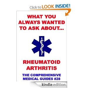 "What You Always Wanted To Know About Rheumatoid Arthritis. ""What You Always Wanted To Know About..."" are fully researched, straight-to-the-point, easily understandable and most comprehensive medical guides for everybody.Whether you are just interested in the topic of the referring book or you are directly affected by it, these books can really help you with the information you need.Compiled by medical professionals and fully structured, this is your step toward new insights and informations...."