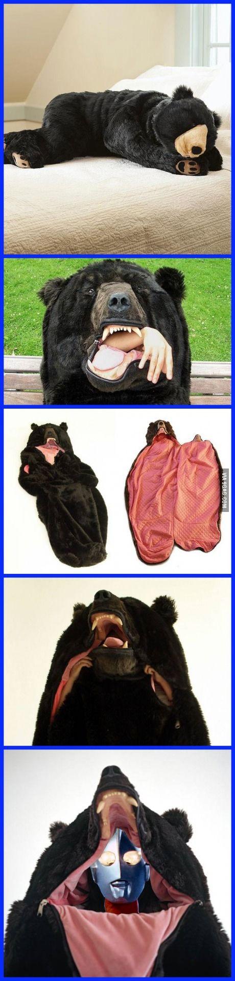 A Bear Sleeping Bag                                                                                                                                                                                 More