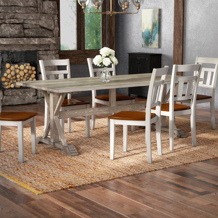 Cheve Solid Wood Dining Table Dining Table Dining Table In