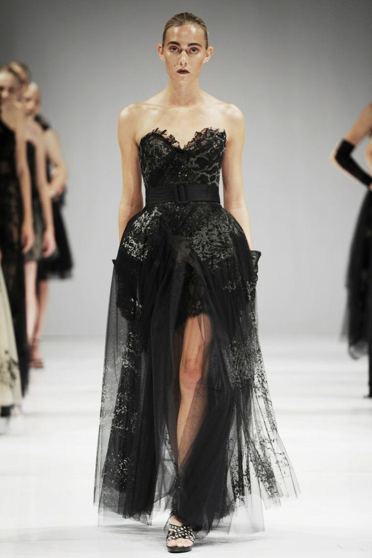 Trash Couture catwalk