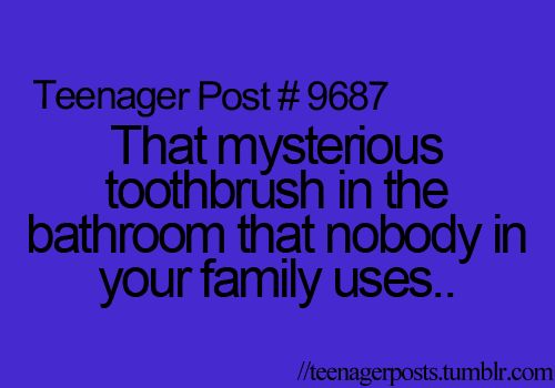 """I don't think this is a """"teenager post"""" I think this is a """"life post."""""""