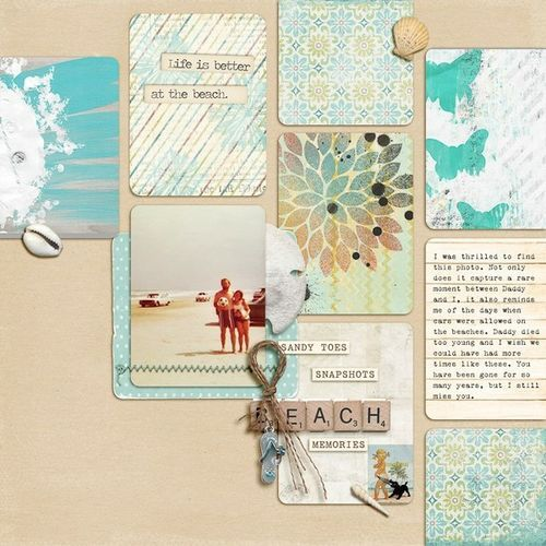 #papercraft #scrapbook #layout  Get the Look: elseepe - Two Peas in a Bucket