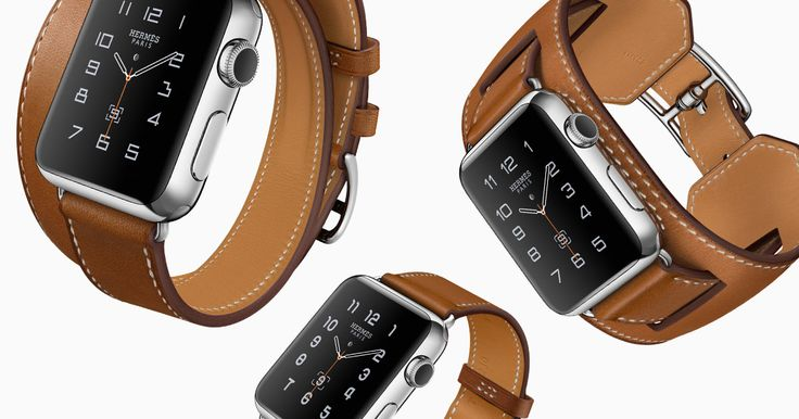 Apple have collaborated with French luxury brand Hermès to launch their limited edition version. When the ultimate timepiece collides with the coolest tech release what's not to like? Launching this week the Apple product is mounted on a choice of three Hermès classic watch straps, The Single Tour, The Double and The Cuff, all in leather and the face features the stylish Hermès logo.