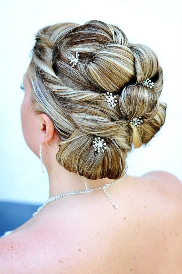 Wedding hairstyle...