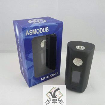 Sale on Asmodus Minikin V2 180W Box Mod at Haze Smoke Shop of Vancouver Canda online and retail shops. The Asmodus Minikin V2 180w Box Mod is an upgraded version with value for its price. It comes with new additions, such as an outage voltage of 180W, touch screen with smart functions and a temperature control template. The device has nine different colors – black, raw silver, rainbow, white, purple, olive green, and coffee – which allow vapers who have an affinity for aesthetics more…