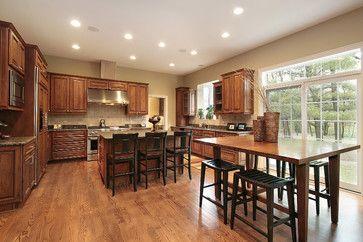 17 best images about oak trim paint ideas on pinterest for Kitchen design 60035