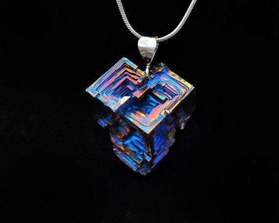 Kafka's Corner Iridescent Bismuth Metal Crystal and by Element83, $44.95