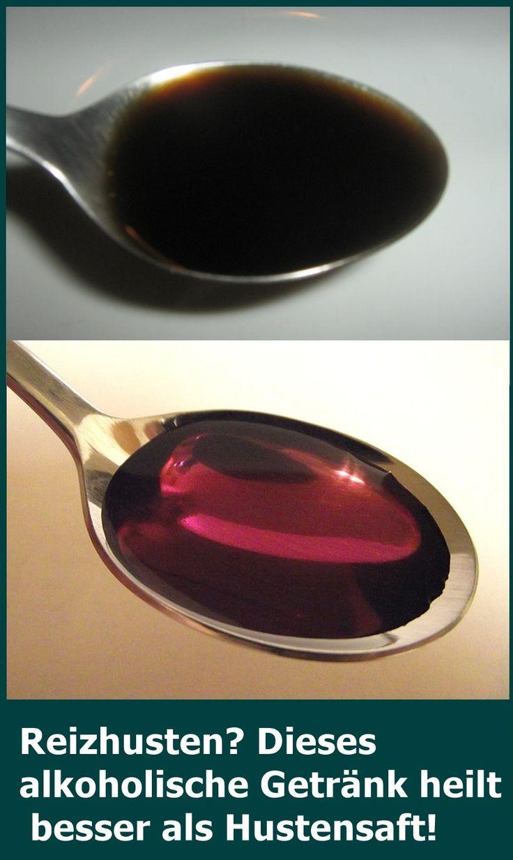 Reizhusten? Dieses alkoholische Getränk heilt besser als Hustensaft! | isfurano…
