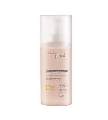 Tratamento reconstrutor multifuncional, com complexo de óleos nutritivos, que atua no interior da fibra capilar, reduzindo os danos e devolvendo brilho aos cabelos.