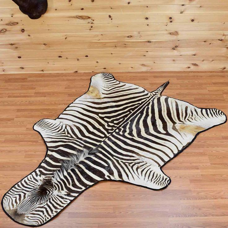 African Burchell's Zebra Skin Rug - SW2880