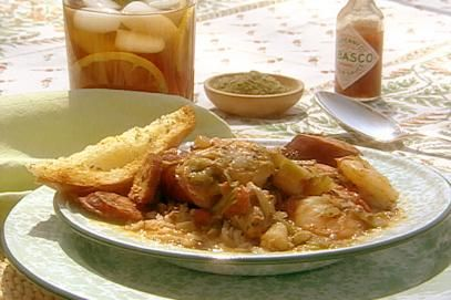 Savannah Seafood Gumbo Recipe | Paula Deen | Food Network