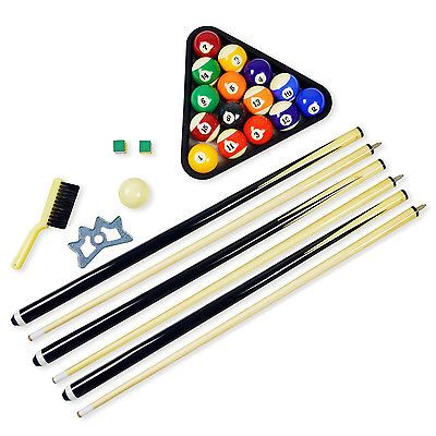 Ball and Cue Racks 75185: Pool Table Billiard Accessory Kit Billiards Accessories Accesories Balls Cues -> BUY IT NOW ONLY: $84.95 on eBay!