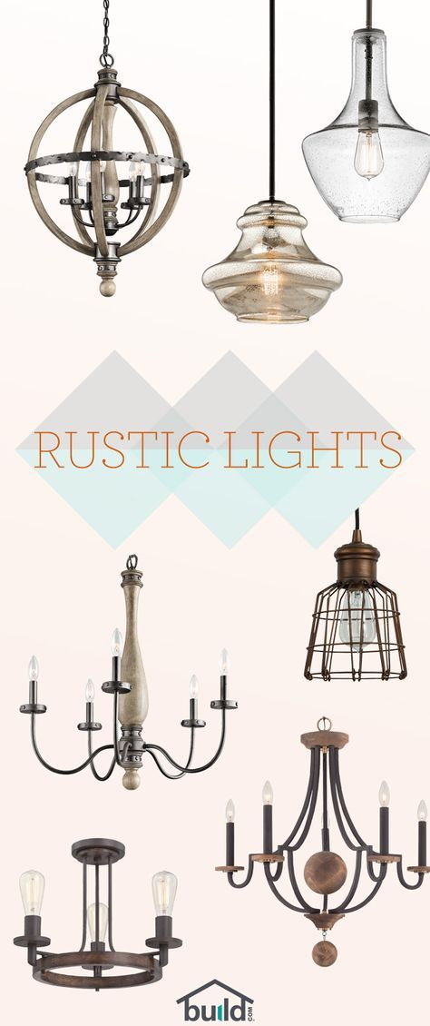 Beautiful Rustic Lighting starting at $65! Give your room a fresh look and feel with an updated fixture that steals the show. Free shipping on all orders over $49!