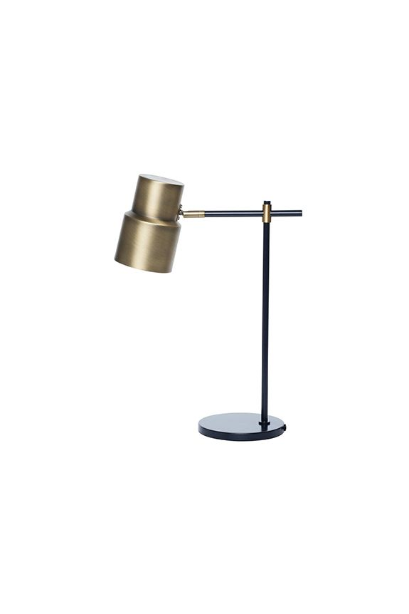Atticus Table Lamp - Charcoal In Stock at Oscar and Willow
