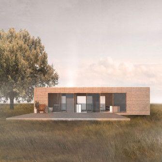ContainerArchitektur Projekte bereit für Bauen, Mieten