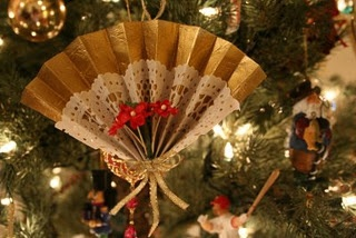DIY Victorian Christmas tree ornaments
