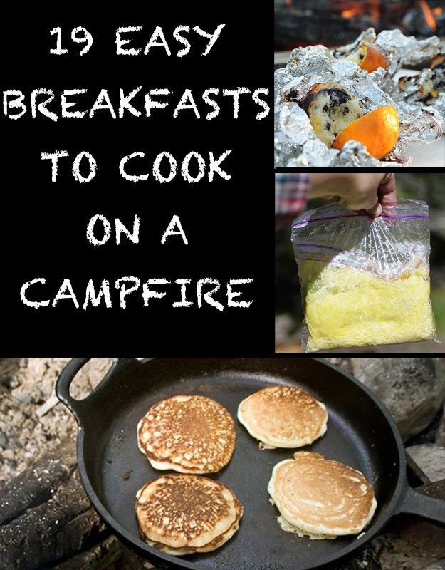 19 Easy Breakfasts For Your Next Camping Trip