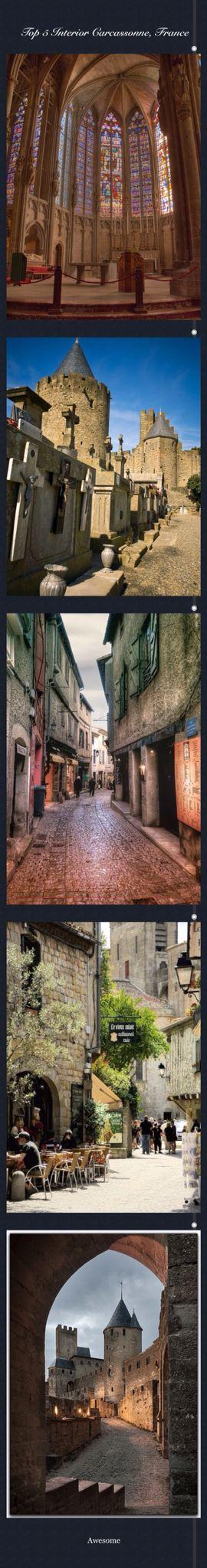 Top 5 Interior Carcassonne, France