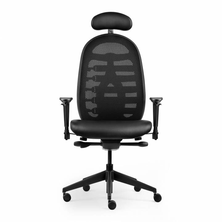 The CPod Dynamic Chair is a world first with its fully adjustable lumbar support system designed into the mesh back #seated #mesh #meshchair #design seated.com.au