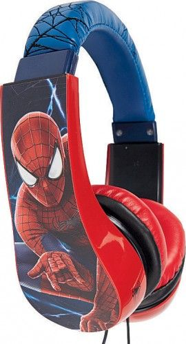 NEW The Amazing Spider-Man Volume-Limiting Headphones