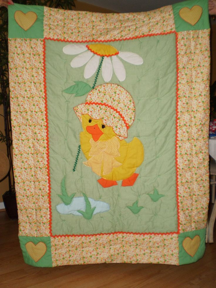 Ducky Quilt by ItzSewTime on Etsy