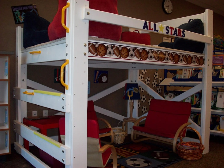 Classroom Loft Ideas ~ Best images about classroom furniture painting ideas on