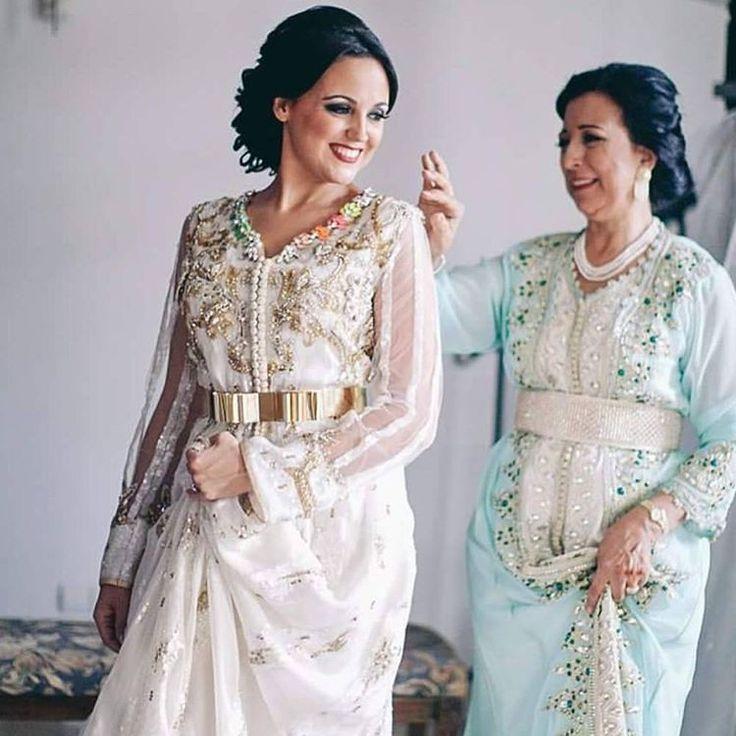 The bridal Kaftan by MERIEM BELKHAYAT. Congratulations to the beautiful bride. Atelier MERIEM BELKHAYAT wishes you all the best. Thank you for the trust and let us be part of happy memories. #meriembelkhayat #morocco #beirut #doha #dubai #jeddah #kuwait #fashionweek #kaftan #design #casablanca #riyadh #wedding #bridal #handmade #couture #qatar #lebanon #qatarshopping #qatarlife #fashionblogger #kaftanexclusive #الثرات_المغربي_الاصيل #القفطان_المغربي