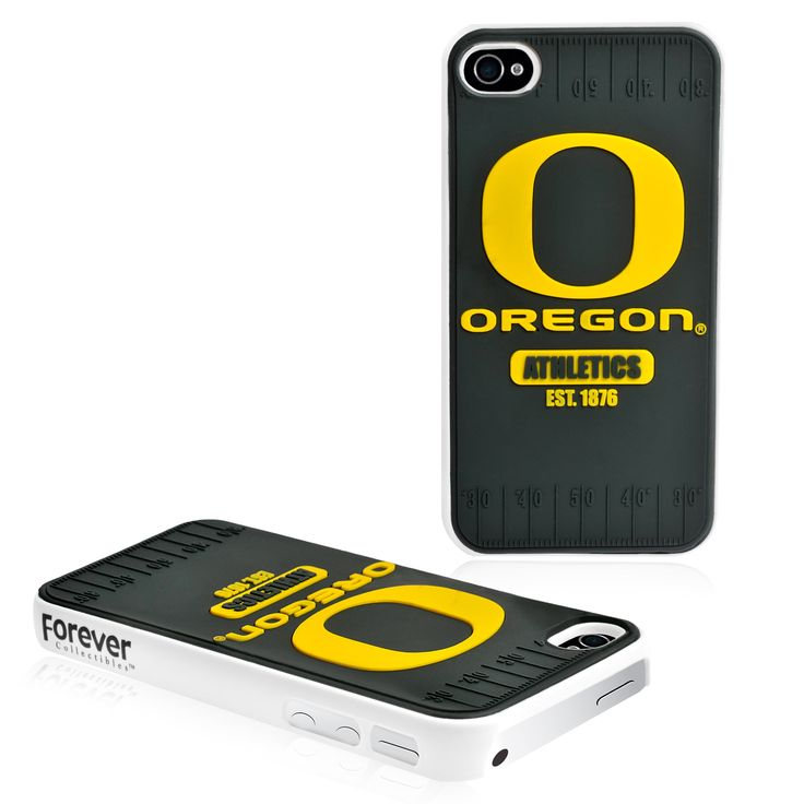 Refurbished Forever Collectibles Ncaa Oregon Ducks iPhone 4/4S Hard Protective Phone Case