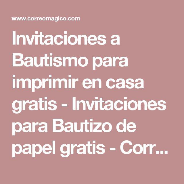 Die besten 25 Invitaciones para bautizo gratis Ideen auf