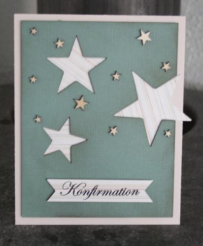 Annes blog: Fik lige lavet nogle flere konfirmationskort.