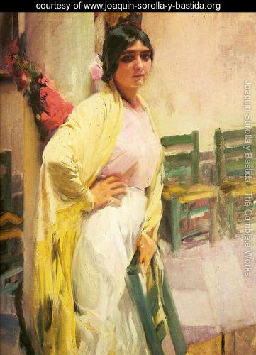 Joaquin Sorolla y Bastida, Maria the beautiful