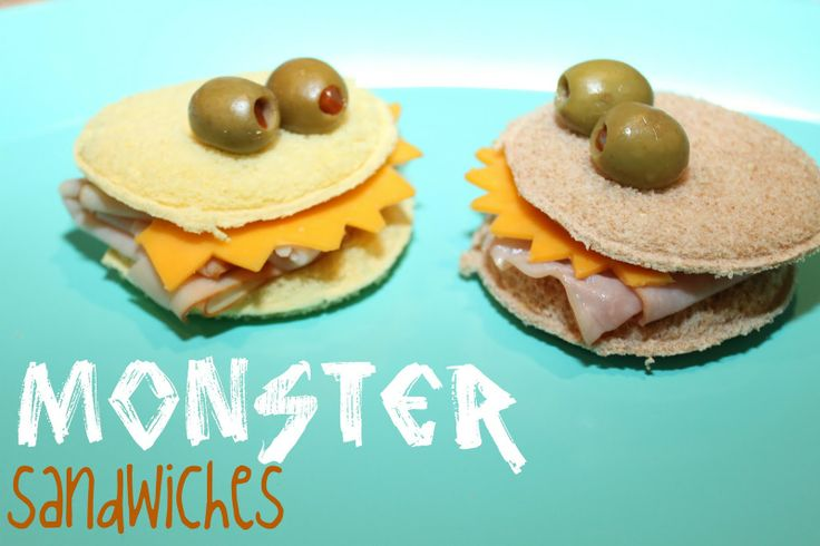 monster birthday food!: