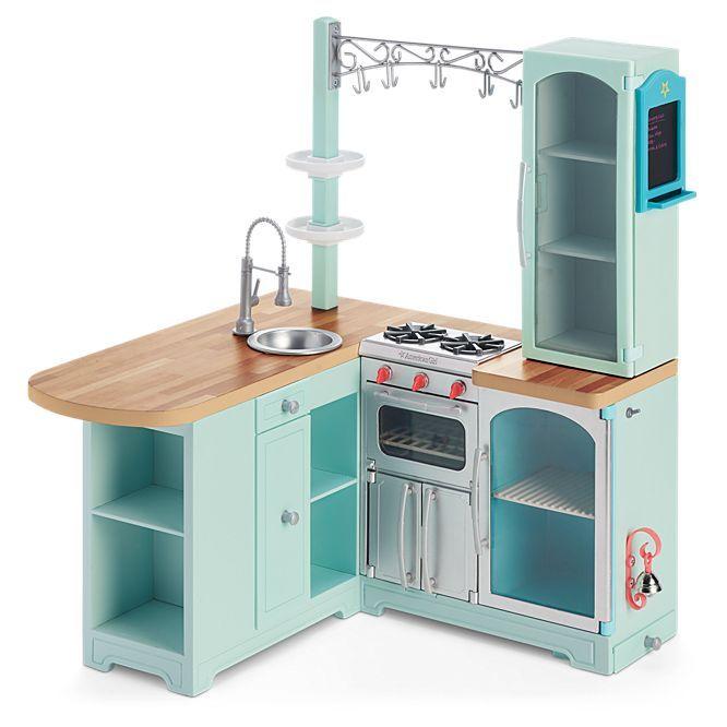 best 25 american girl kitchen ideas on pinterest american girl furniture diy doll kitchen. Black Bedroom Furniture Sets. Home Design Ideas